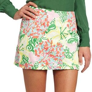 Lilly Pulitzer Callie Skirt 4 Floral Butterfly